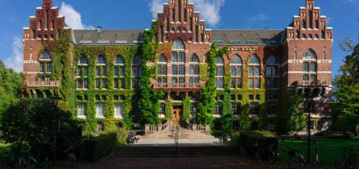 Lund architecture, Lund University library building, Lund, Sweden, September 27, 2015 | © Courtesy of barnyz/Flickr.